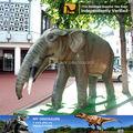 Mi Dino - dinosaurios Animatronic animal de fibra de vidrio elefante africano