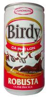 BIRDY ROBUSTA COFFEE MILK BLEND DRINK CAN 170ML