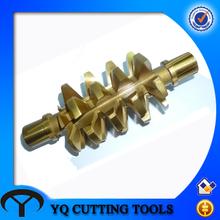 HSS PA20 m5 turbine hob /worm gear hob cutter