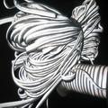 Guarnições de vestuário, tubulação reflexiva rp-hw506030, material reflexivo para a roupa