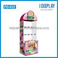 boneca exibir caixas de papelão stand para o varejo