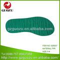 los niños verde materiales tpr para la reparación de los zapatos 6037
