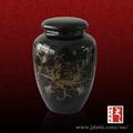 vidro preto de jingdezhen crematório de animais