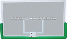 transparent glass basketball backboard,aluminum basketball backboard