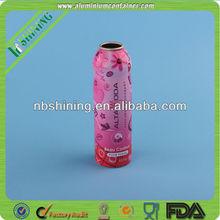 Luxury Packaging Cosmetic Aluminum Aerosol Can