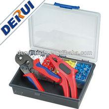 Interchangeable Ratchet Crimping Tool Kit