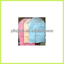 cheap non-woven wedding dress cover suit bag garment bag welt pkt