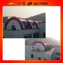 inflatable paintball field tent/giant paintball shooting arena/shooting range