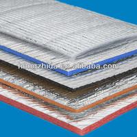 Sound barrier fire resistant material XPE foam foil boards