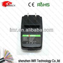 IMR high quality Soshine USB travel charger for Ipod, MP3, MP4, PDA Mobilephone