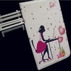 Beautiful romantic girl cases for apple ipad air ipad 5 high quality smart cover