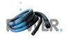 Fireproof and waterproof rubber foam tube