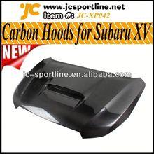 New Arrival 2013 Carbon Fiber Hoods,Car Engine Bonnets,XV Auto Hoods for Subaru
