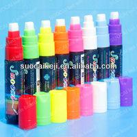 Wet Liquid Chalk Neon Marke Pen 8 Color Pack Dry Erase Liquid Permanent Marker