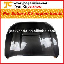 Carbon fiber engine hoods for Subaru XV front bonnet car engine cover