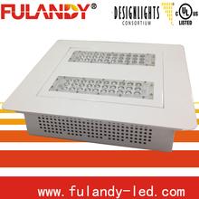 100 Watt LED Ceiling Mount Canopy Outdoor Light Fixtures Energy Efficient White/Grey/Black USA Seller