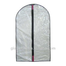 plastic clear transparent pvc dry cleaning bags