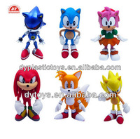 Super Sonic characters action figures manufacturer