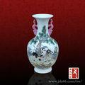 jingdezhen oem decorativos de cerámica pintada a mano imágenes de jarrón antiguo