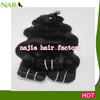 100% human brazilian water wave hair extension