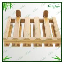 Bamboo Hanging Glass Rack and Bottles Holder