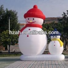 Christmas Inflatable Snowman Family