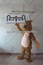 NO.4376 character brown dog mascot costumes