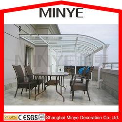 outdoor glass room/Shanghai Factory customized design sunroom