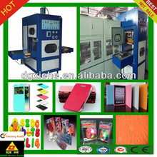 High quality multifunction machine phone cover making /leather embossing /blister packaging within one machine