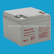 Good performance high quality Gel solar 12v 26AH Stroge battery