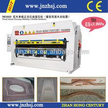 wood veneer vacuum membrane press machine