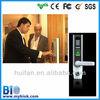 Mechanical key finger & code & RFID card reader house security door entry device(HF-LA501)