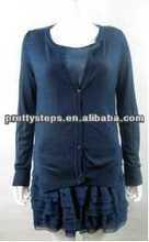 Pasos bastante cálido 2013 dama vestidos y faldas/guangzhou dama fabricante de prendas de vestir