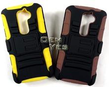 high quality TPU PC hybrid phone case for lg g2 d802