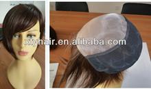 china manufacturer 100% human hair wig front mono women wig real hair breathing short hair wig