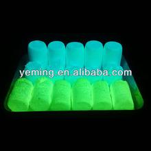 photoluminescent powder/green glow in dark powder/luminous pigment