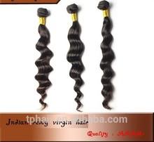 Hair Products Raw 100% Virgin Indian Hair,8A Virgin Weaving Human Extension