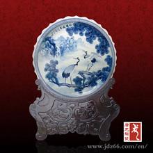 Jingdezhen decorative large porcelain plate supplier