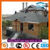 Easy decoration light steel structure villa for sale