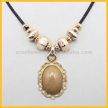2014 wholesale cheap gold palting necklace fashion jewelry