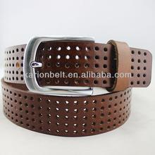 Hollow style classictop grain cowhide belt