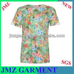 2013 fashion dry fit t-shirt, full print man t-shirt
