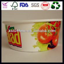 Custom logo printed disposable food packaging and lids wholesale in CN