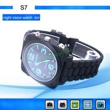 1-32GB High quality mini hidden digital watch voice recorder,Digital Mini Voice Recorder S7