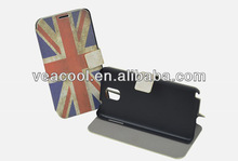 New Retro UK USA Flag Leather Case for Samsung Galaxy Note 3 III N9000 Stand Case