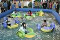 los niños jolly mano inflable barco barco de remo