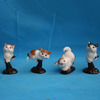 realistic furry handmade simulation plush toys plastic little animals