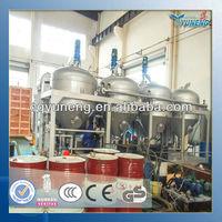 Waste car engine oil change machine/waste oil distillation machine