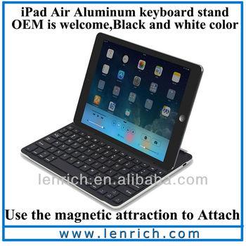 LBK174 2014 Ultra Slim Aluminium Keyboard Bluetooth for iPad Air 5