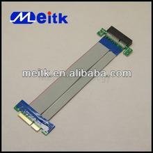 PCI-E Express 4X Riser Card Extender Extension Ribbon Flex PCI Cable Adapter
